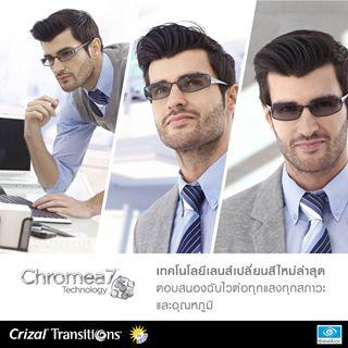 Crizal Transitions® Signature™ VII Forte UV  (1/3)